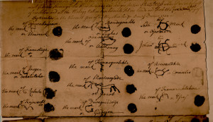 Indian Signatures 1724 partial